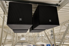 High School Gymnasium Subwoofers
